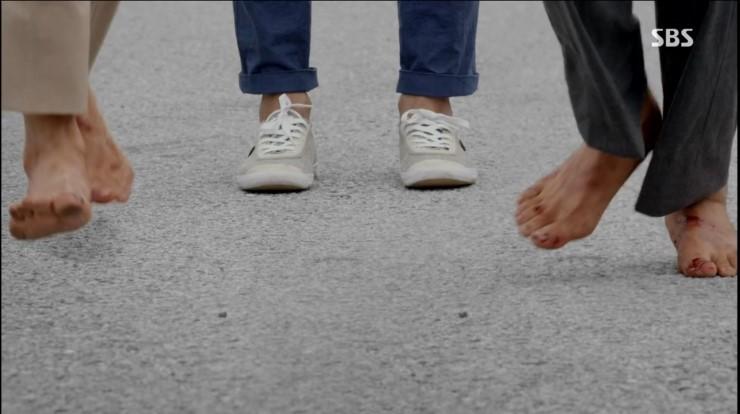 괜찮아 사랑이야 권상우 신발